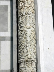 Pisa Duomo: Decorated column