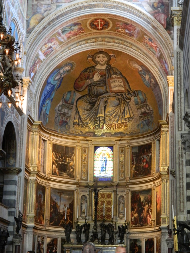 View on entering the Duomo. (Pisa)