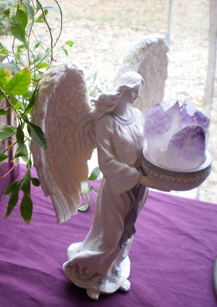 Theme Angelique et des cristaux
