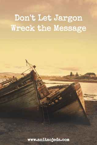 #Jargon can wreck the message. Save the Sheep! http://wp.me/p7W1vk-9U #BGBG2