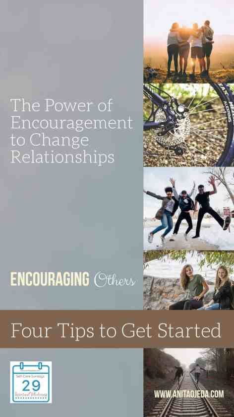 Have you fallen into a negativity pit in a relationship? Try the power of encouragement to turn it around. #relationships #encouragement #parenting