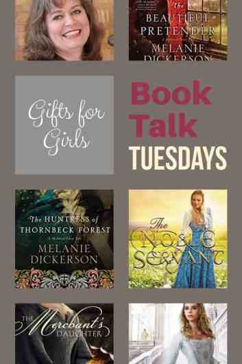 Book by Melanie Dickerson make awesome gifts for teenage girls! #amreading #gifts #homeschool