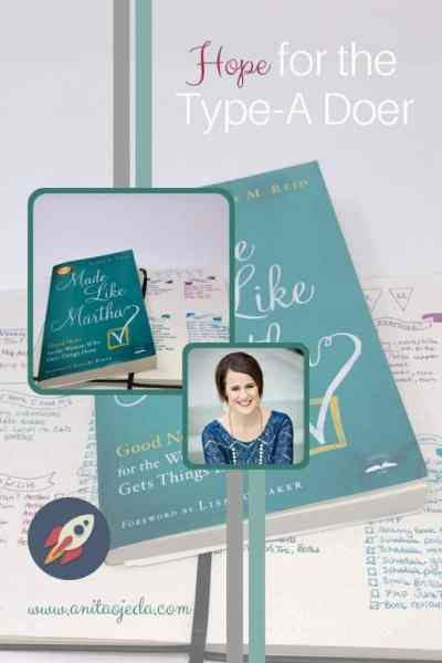 Do you suffer from a case of made like Martha? Always doing and never resting? Check out this new book. #bookreview #typea