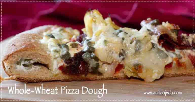 best whole wheat pizza dough recipe