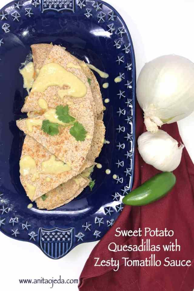sweet potato quesadilla