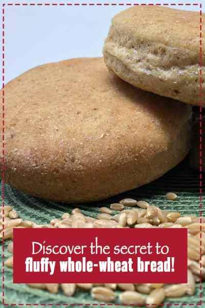 whole-wheat hamburger buns