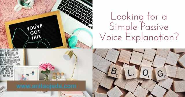 passive voice explanation