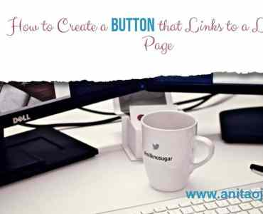 This visual tutorial will walk you through the steps necessary to create a clickable button for your sidebar that will lead readers to a landing page or post for a series. #write28days #selfhostedWP #blogger