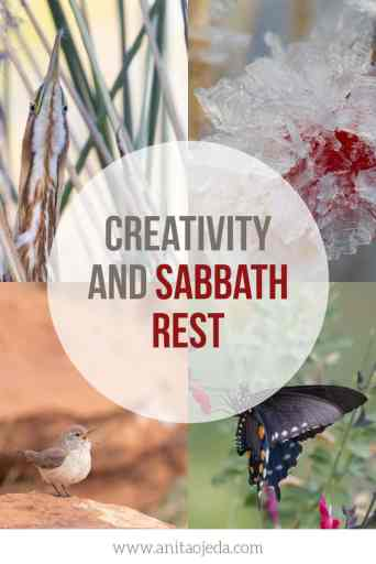 Have you ever wondered if there's a connection between creativity and Sabbath rest? I've found one in my life. Check out these tips. #Sabbathrest #rest #Creatviity #selfcare