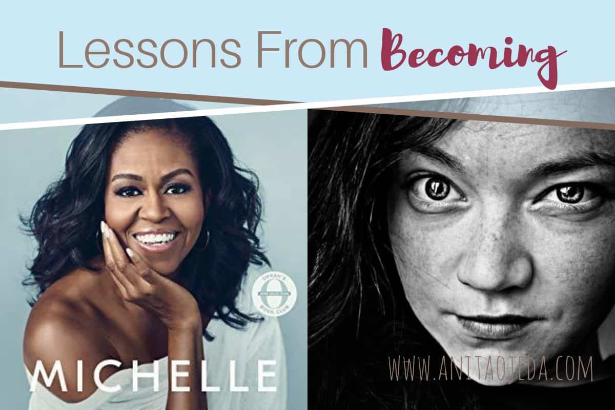 On today's Book Talk Tuesday discussion, one reader shares what she learned from Michelle Obama's warm, intimate memoir, BECOMING. #amreading #becoming #booktalktuesdays