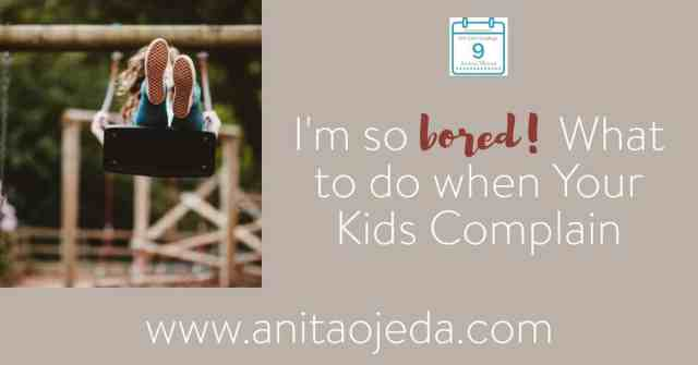 """There's nothing worse than hearing the dread phrase, """"I'm so bored!"""" If you let it, it nibbles at your peace like a piranha. Intellectual self-care for you means teaching your kids how to handle boredom. #boredom #summer #parenting #kids #vacation"""