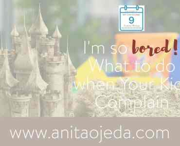 "There's nothing worse than hearing the dread phrase, ""I'm so bored!"" If you let it, it nibbles at your peace like a piranha. Intellectual self-care for you means teaching your kids how to handle boredom. #boredom #summer #parenting #kids #vacation"