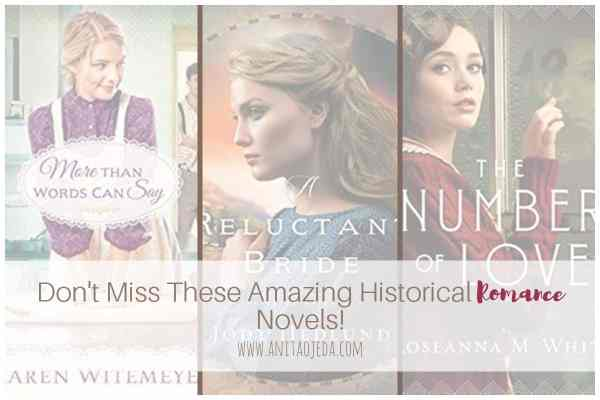 Looking for good historical romance novels? Check out these three titles from some of my favorite inspirational fiction authors. #amreading #historicalromance #bookreview