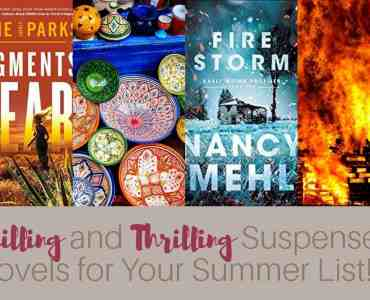 These two chilling and thrilling suspense books will keep you up late at night. Good thing it's summertime! #amreadingsuspense #netgalley #amreading #bookreview #suspense