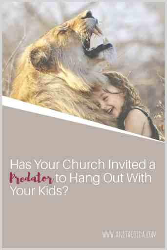 We've all head about priests and pastors who turned out to be sexual predators. But what about the affable volunteer who loves 'ministering' to kids? This book will equip you to spot common grooming behavior by predators and help you empower your children and keep them safe from predators. #sexualabuse #church