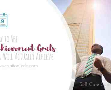 Achievement goals relate to your long-term goals and life plan goals. But in order to achieve, you must first believe that you can. Hacks for helping you set and reach achievement goals. #goals #planner #SelfCareSunday