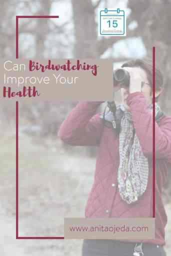 Vigorous exercise vs. a quiet hobby: which one is better for your health? A hobby, or avocation, can help improve your health in five different ways--even if it doesn't involve vigorous exercise. #avocation #hobby #vigorousexercise #health #stress #stressrelief #birding