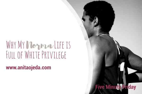 What is normal? For years, I never thought about the fact that I'm white, and have a lot of privilege conferred on me. My white privilege seemed as comfortable as my skin. These days, my privilege makes me itch and want to do something to change my world. #privilege #socialjustice #runwithmaud #justice #whiteprivilege