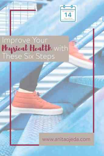 There is no one formula for reaching your physical health goals. What works for me might not work for you. Taking 10,000 steps a day might not work. Instead, consider these six things when setting goals for your physical health. #10ksteps #selfcare #SelfCareSunday #physicalhealth #goals #goalsetting #health