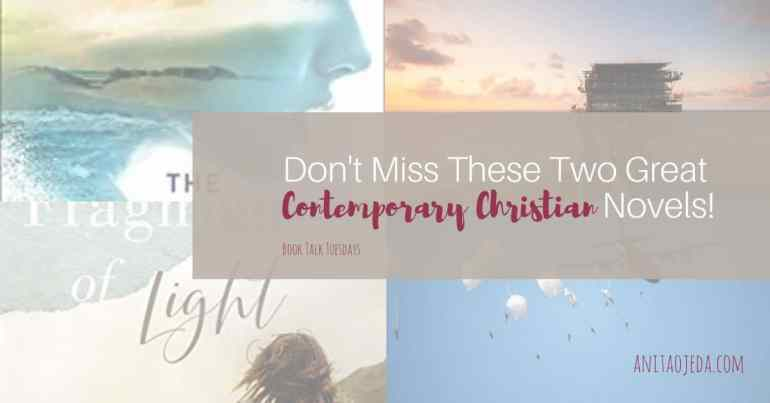 Looking for a good contemporary Christian novel to keep you entertained as summer winds down? Check out these two new releases! #amreading #TBRList #bookreview #WW2novel #Relationships #Suspense