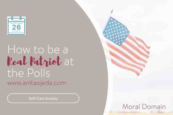 What makes a patriot? Flag-waving? Chanting? How about doing your homework? Every real patriot has homework to do in the next 100 days. Here's why. #patriot #goals #moraldomain #vote #election2020 #candidate #homework #learn