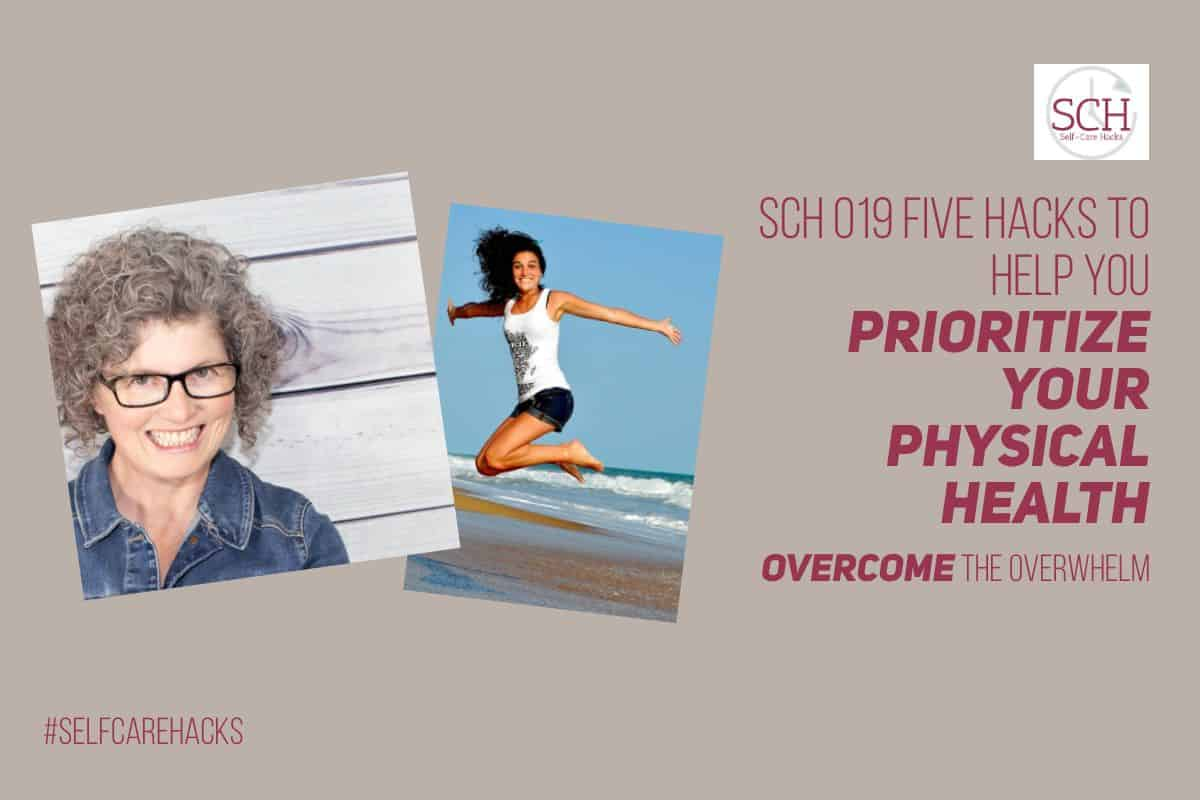 If you don't prioritize your physical health, you may end up losing it. How do I know? I learned the hard way. On today's podcast I'll share five hacks to help you make physical health a priority in your life. #priority #goals #physicalhealth #exercise #weightloss #podcast #selfcare #selfcarehacks #selfcarehackspodcast