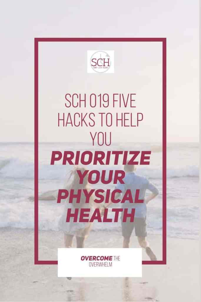 If you don't prioritize your physical health, you may end up losing it. How do I know? I learned the hard way. On today's podcast. I'll share five hacks to help you make physical health a priority in your life. #priority #goals #physicalhealth #exercise #weightloss #podcast #selfcare #selfcarehacks #selfcarehackspodcast