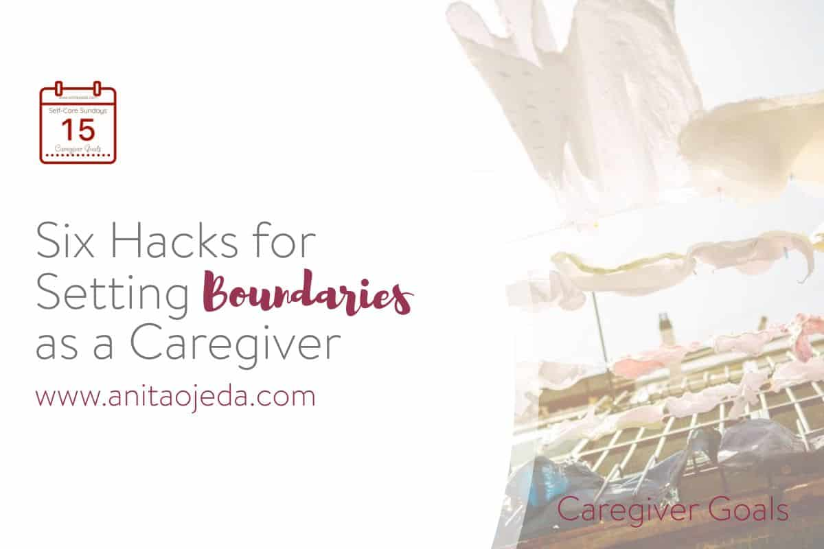 Caregivers need to set boundaries in order to have the bandwidth to care for an injured or ill family member. For some caregivers, boundary setting might come easily. For others, not so much. These six hacks will help you set the boundaries you need to keep yourself healthy. #caregiver #SelfCareSunday #selfcare #caregiverselfcare #cancer #burnout #stress #boundaries #healthyrelationships