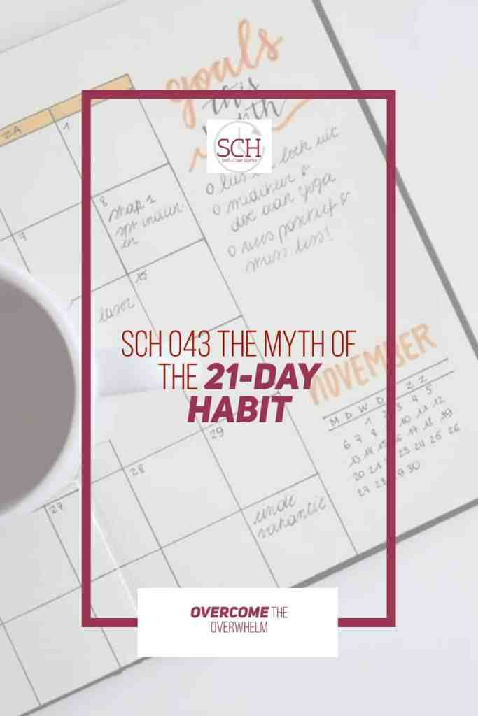 People often ask me how long it takes to build a habit. I used to think it took a simple 21 days. Science shows this isn't true. #habits #goals #trigger #selfcare #selfcarehacks #podcast #blogger
