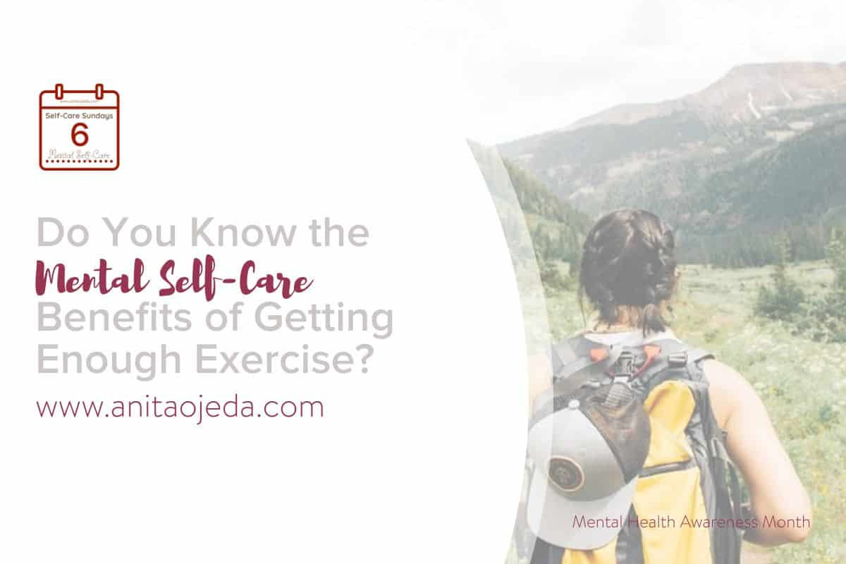 I didn't realize the powerful role exercise played in my mental self-care until I couldn't exercise for five weeks. These hacks will help you start on your journey to using exercise to regulate your mental health. #ATFLsurgery #depression #anxiety #health #exercise #selfcare #selfcareSunday #selfcarehacks #mood #mentalhealth