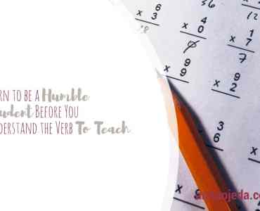 The verb to teach fills me with memories, maybe because I've taught for over 30 years. But the biggest lesson I'm still learning has to do with learning to be a humble student.#lifelonglearner #LLL #teacherlife #student #humility #math #unexpectedblessings