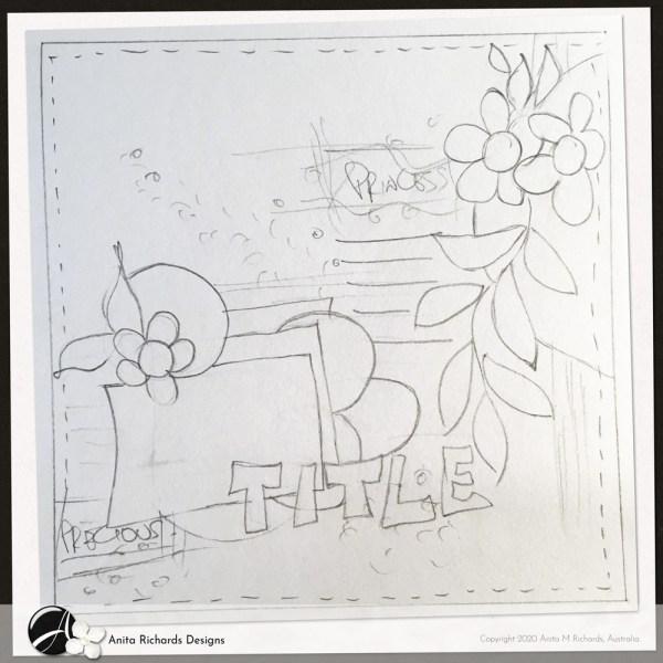penciling sketchPLATE 0007