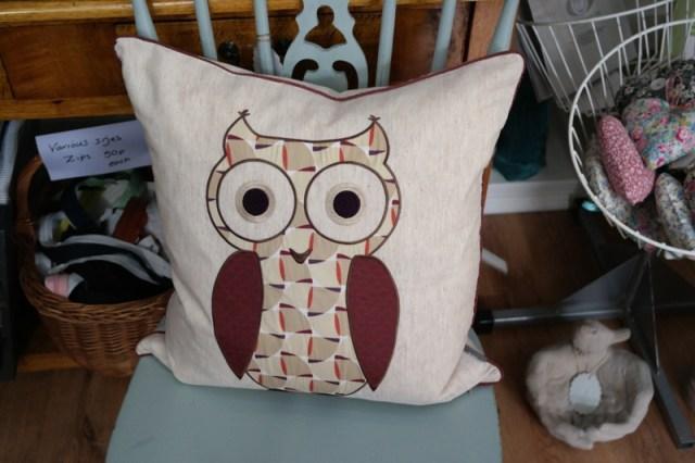 iLiv Twit Twoo Owl Cushion Anitas Soft Furnishings Accrington