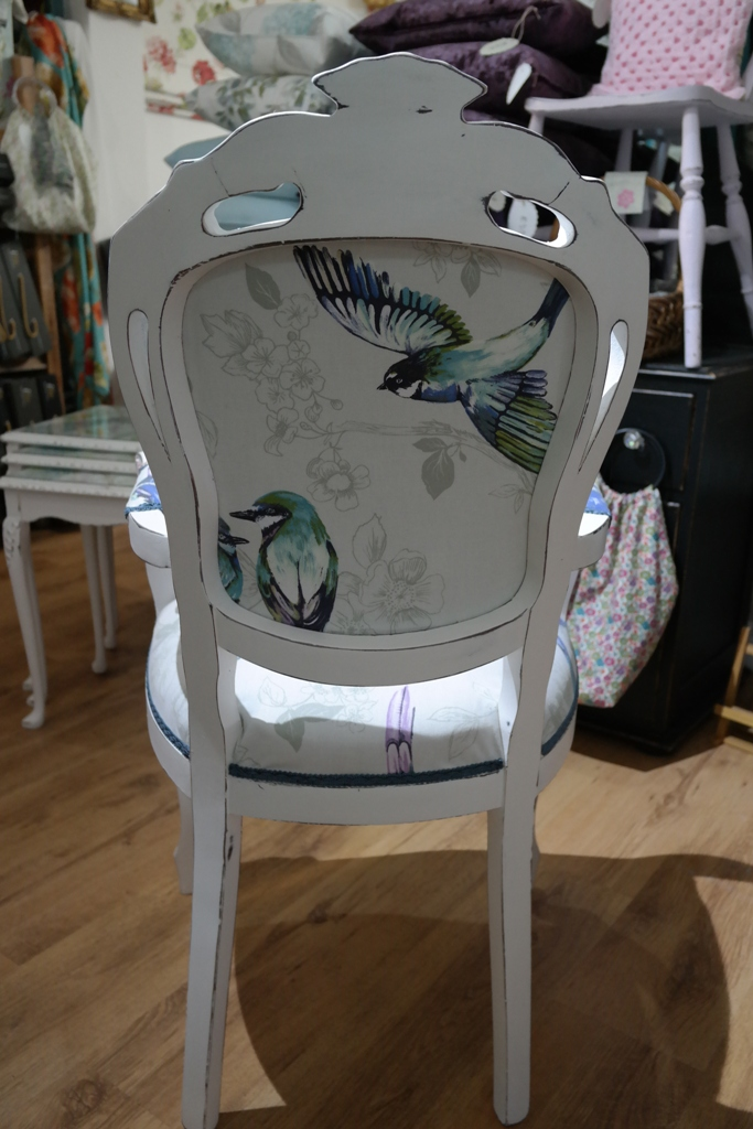 Stunning French Louis Style Chair in a Shabby Chic Finish