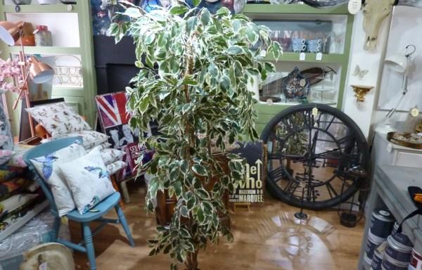 Large faux tree foliage