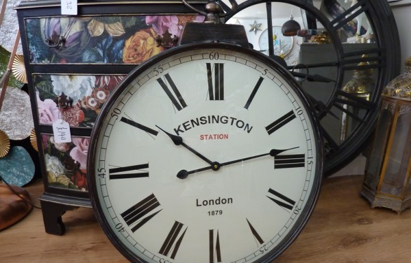 Kensington Station Clock Battery Operated 28""