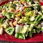 Chopped Autumn Salad with Maple Vinaigrette