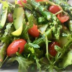 Grilled Zucchini and Asparagus Salad