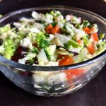 Crunchy Chopped Vegetable Salad