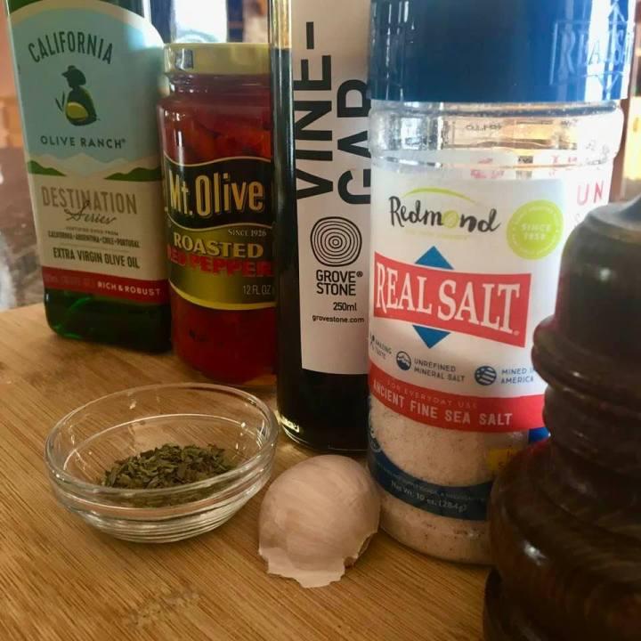 Roasted Red Pepper Salad Dressing