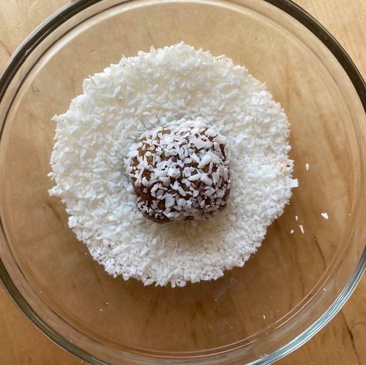 Coconut Date Bites