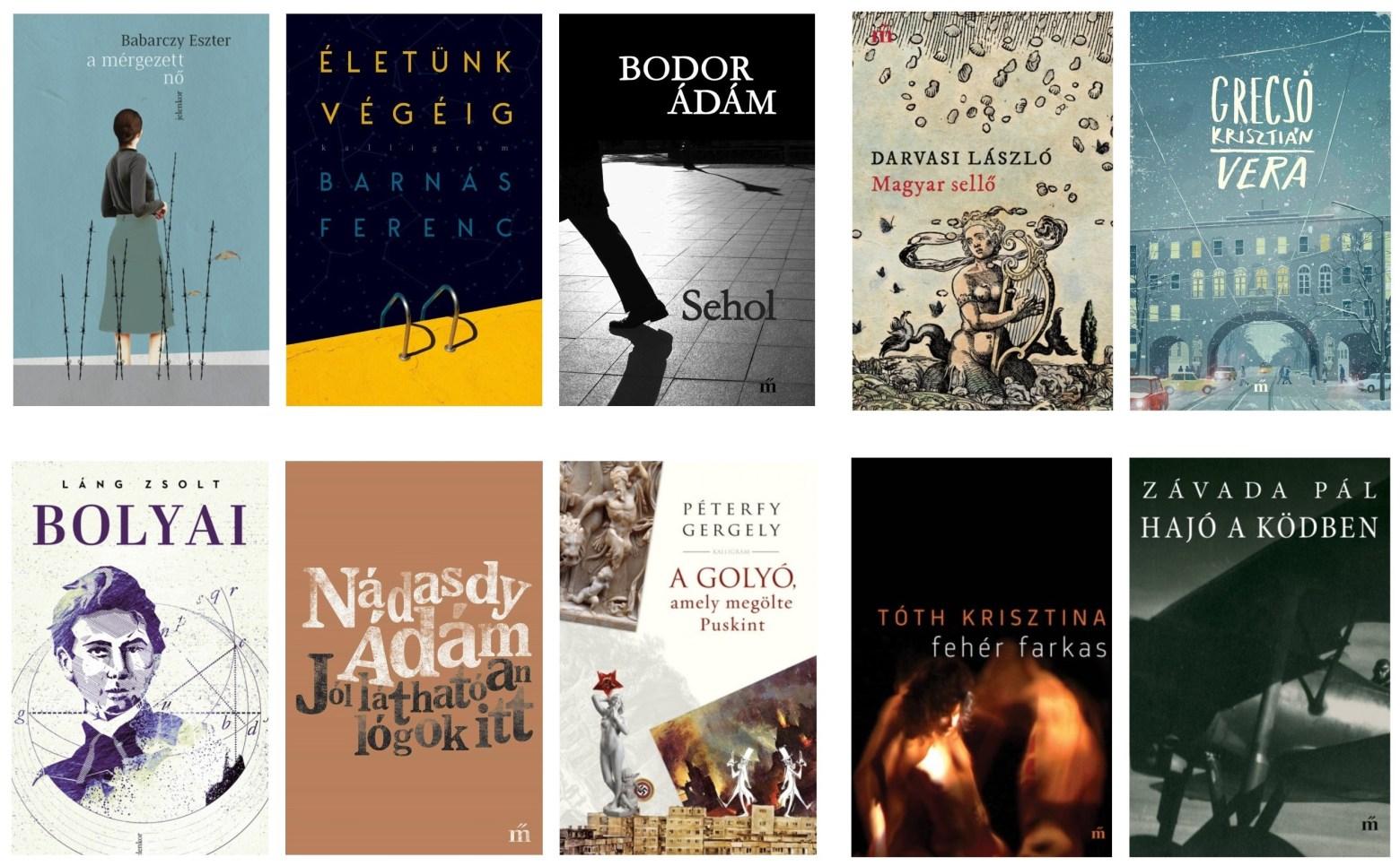 Ismét 10 könyv verseng a Libri irodalmi díjakért