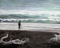 on_the_shore_mixed_media