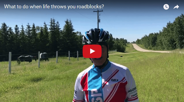 What to do when life throws you roadblocks?