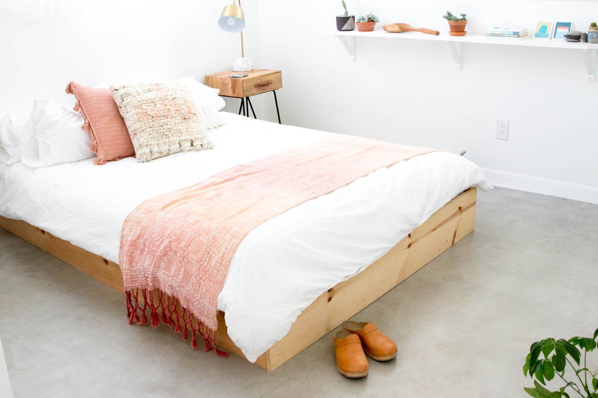desert inspired boho bedroom blush tones