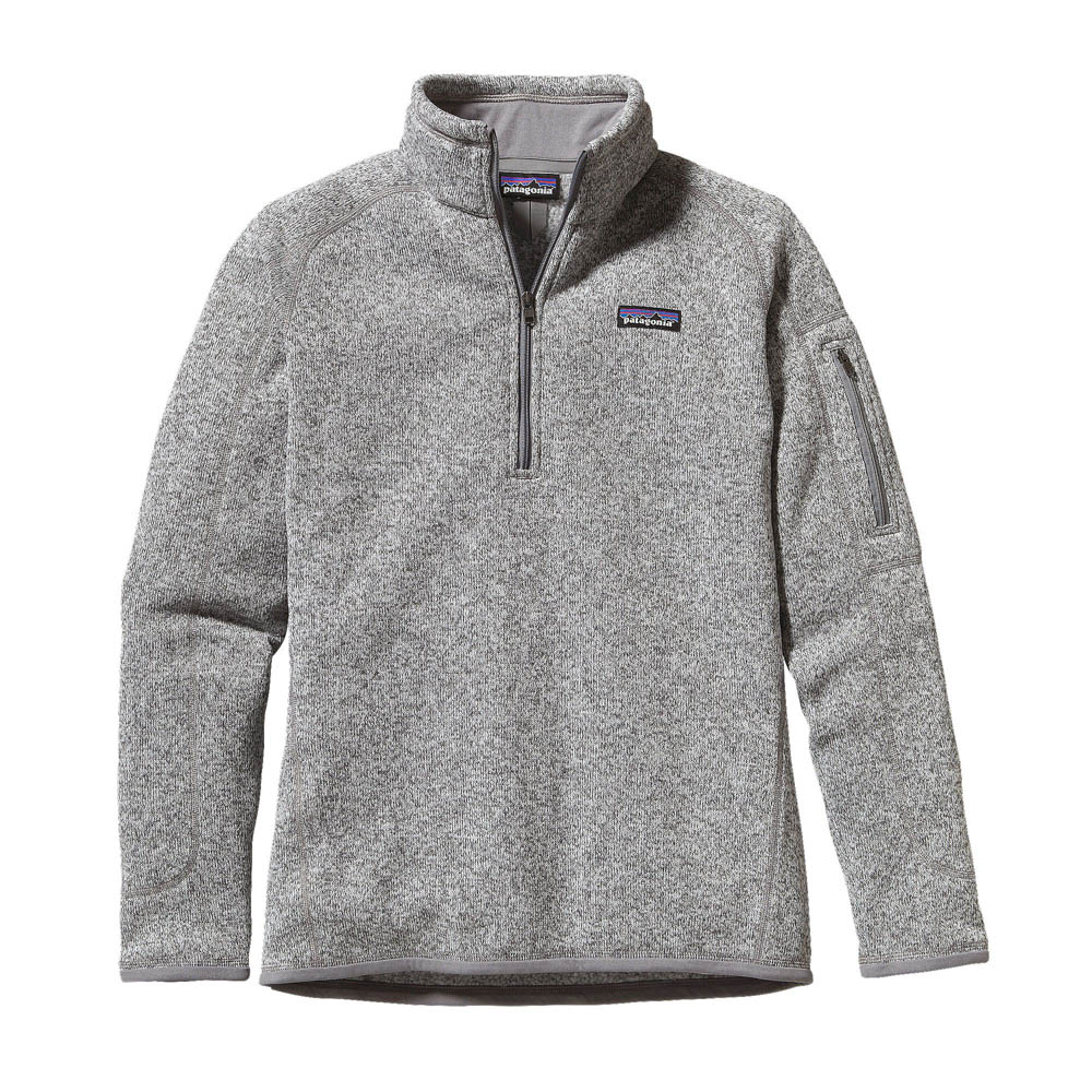 Alaskan Cruise Packing Tips: Pack layers of clothing for you and your family. patagonia women better sweater half zipper