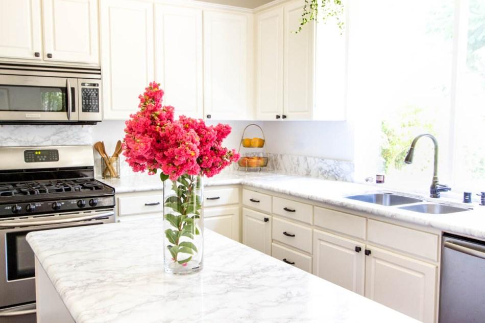 Contact Paper Kitchen Counter | Diy Kitchen Makeover Under 40 Anita Yokota
