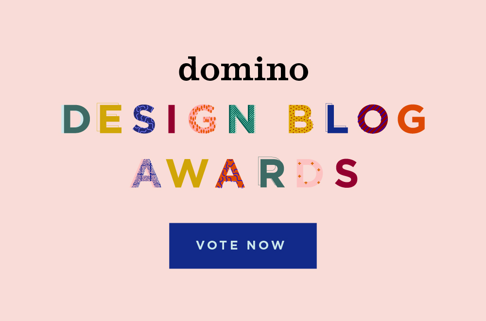domino Design Blog Awards - vote now!