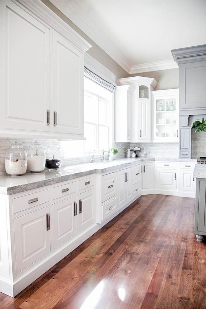 laminate floors white cabinets-2 - Anita Yokota