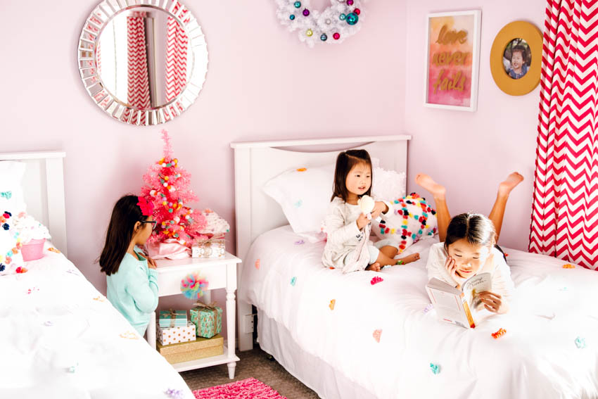 holiday kids bedroom target pillow fort bedding